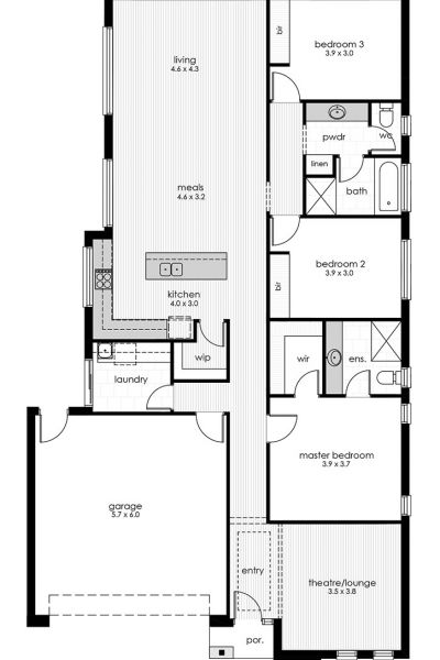 Hamley Display Home Floorplan