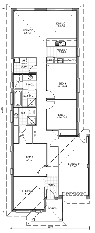 Mayfair site plan